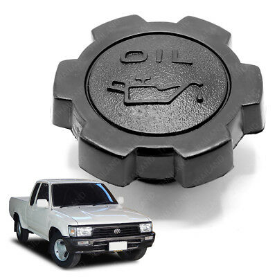 Engine Oil Filler Cap Cover Black Trim For Toyota Hilux Mighty-X 1988 - 2001
