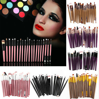 20PCS Make up Brushes Set Foundation Eyeshadow Eyeliner Powder Kabuki Style