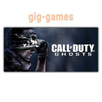 Call of Duty®: Ghosts PC spiel Steam Download Digital Link DE/EU/USA Key Code