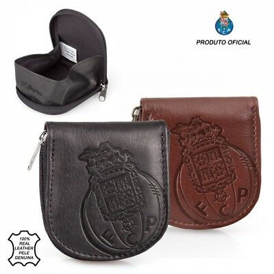 Official FC Porto Genuine Leather Horseshoe Coin Tray Wallet Liga Nos Portugal
