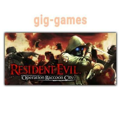 Resident Evil: Operation Raccoon City PC spiel Steam Download Link DE/EU/USA Key