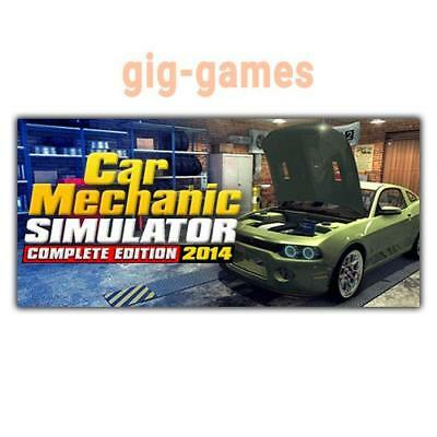 Car Mechanic Simulator 2014 PC spiel Steam Download Link DE/EU/USA Key Code