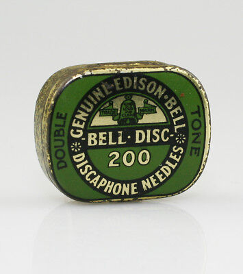 EDISON BELL 'Double Tone' Gramophone Needle Tin (NZ66)