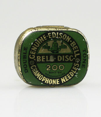 EDISON BELL 'Double Tone' Gramophone Needle Tin (NZ67)