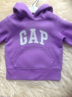 Stunning 6-9 Month Baby Gap Purple Hoodie Excellent Cond Low/comb P&p 10P!