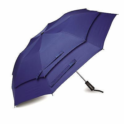 Samsonite Windguard Auto Open Umbrella Aqua Blue