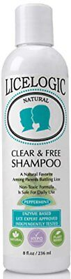 #1 Lice Shampoo and Lice Treatment - LiceLogic - Natural One Day Head Lice...