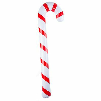 Giant Inflatable 90cm Candy Cane Blow Up Christmas Decoration Party Accessory