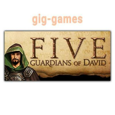 FIVE: Guardians of David PC spiel Steam Download Digital Link DE/EU/USA Key Code