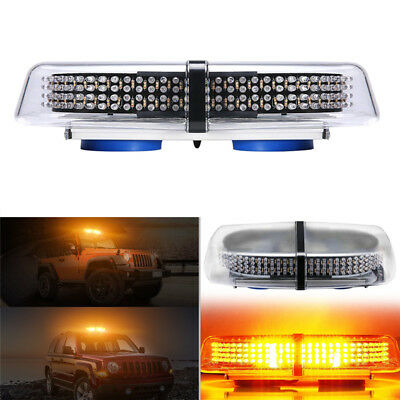 240 LED Car Roof Flashing Emergency Beacon Light Bar Strobe Warning Hazard Lamp