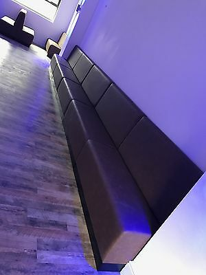 Fixed bench/Booth Seating/Bench Seating/Restaurant seating/Fixed seating