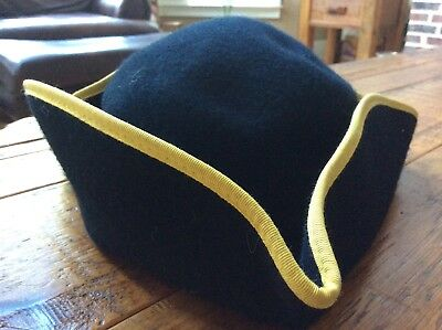 Colonial tricorn kid's large, wool, Colonial Williamsburg, costume, Homeschool