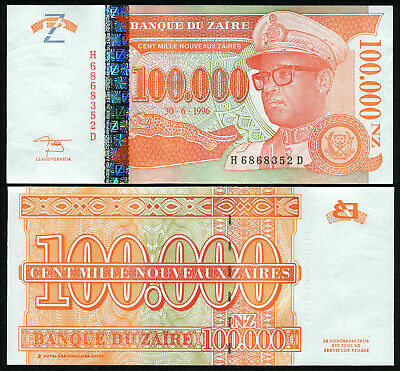 10 Zaires 1985 unc P 27a P27a Lot Set Of 10 Banknotes Notes Zaire New Varieties Are Introduced One After Another