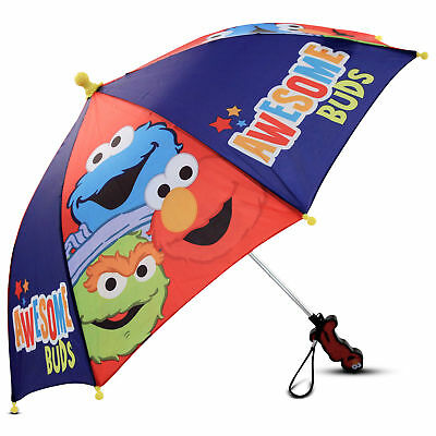 Sesame Street Awesome Buds Character Umbrella, Little Boys, Age 2-7