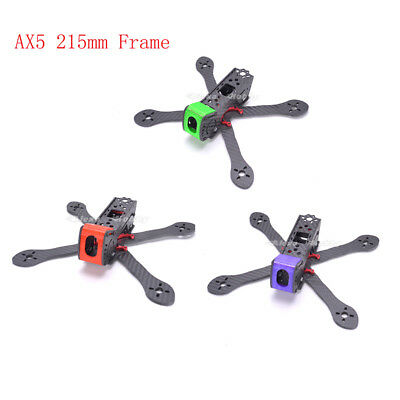 FPV Racing AX5-215 215mm Carbon Fiber Quadcopter Frame for Geprc GEP-AX5