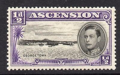Ascension 1/2d Stamp c1938-53 Mounted Mint SG38 Perf 13.5