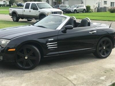 2005 Chrysler Crossfire Limited This convertible is fun fun fun to drive.