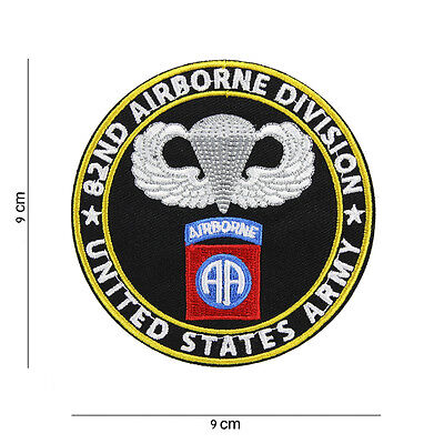 82nd Airborne Division Patch SSI AA ALL AMERICAN US ARMY Vietnam Paratrooper #2