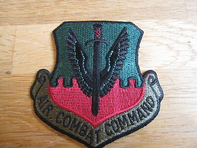 "Original Patch ""US Air Combat Command"" Aufnäher Abzeichen USA"