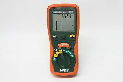 Extech 382252 Earth Resistance Meter/Tester w/Backlit Screen ~ SHIPS FREE!