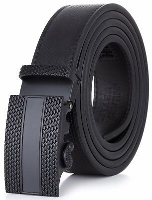 Gallery Seven Leather Click  Belt , Adjustable Ratchet Belt For Men, Gift Wrap
