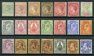 Turks & Caicos islands Mixed Mint QV - GV Lot