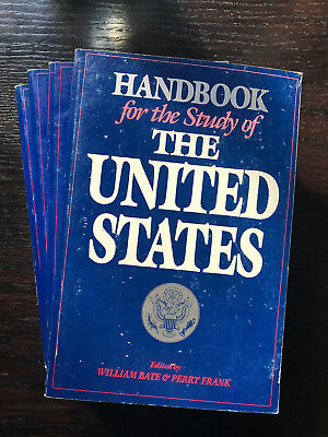 Handbook for the Study of the United States (4 Bände) - American Studies