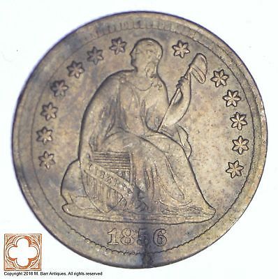 1856 Seated Liberty Silver Half Dime *261