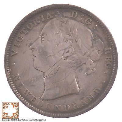 1899 New Foundland 20 Cents Queen Victoria *5396