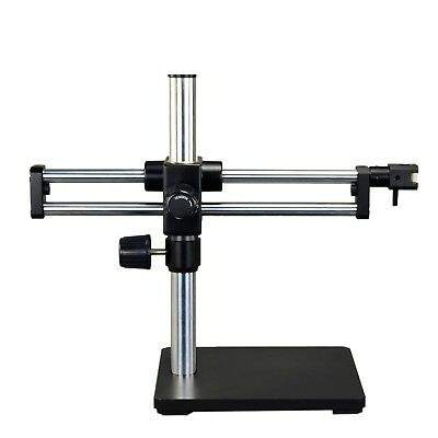 Ball-Bearing Dual-arm Boom Stand for Stereo Microscopes 15 Inch High Pillar