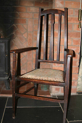 Antique Arts and Crafts Carver Chair | Victorian c1900
