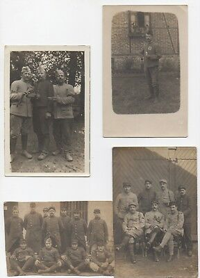 rare lot photos cpa anciennes militaire poilu vers 1900 WW1