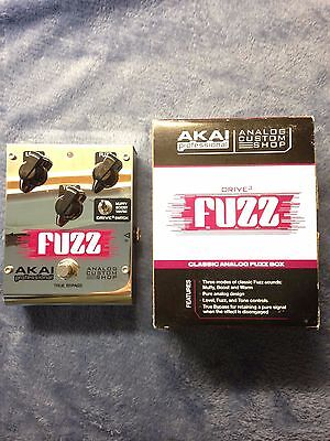 Akai Drive 3 Fuzz Electric Guitar Effects Pedal
