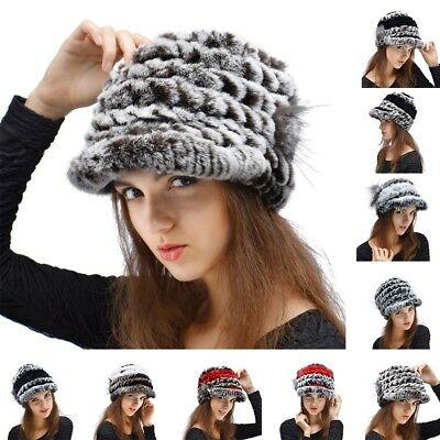 3d6d4ef13a4 Womens Fur Pom Pom Cable Knitted Winter Warm Bobble Beanie Hat Ski Cap For  Girls