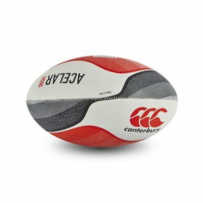 Canterbury Acelar Mini Rugby Ball - Flag Red