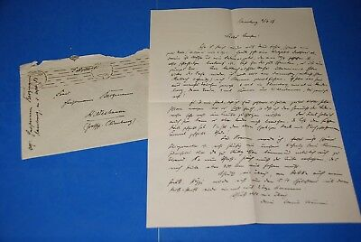 1918 World War, German Captain Field Post Vintage old Letter WWI, Antique yy 31