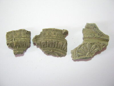 Lot of Ancient Roman Lead Pot Fragments