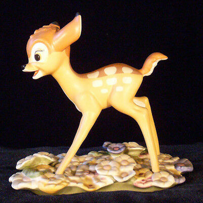Bambi: Purty Flower (WDCC, mint)