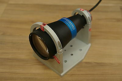 Opto Engineering LTCL048-G Telecentric Illumination with CMHO048 clamp - green