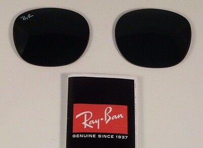New Authentic RAY-BAN Sunglass Replacement Lenses RB3016 Clubmaster G15 51mm