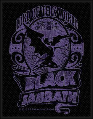 Black Sabbath - Lord Of This World - Woven Patch - Brand New - Music 2841