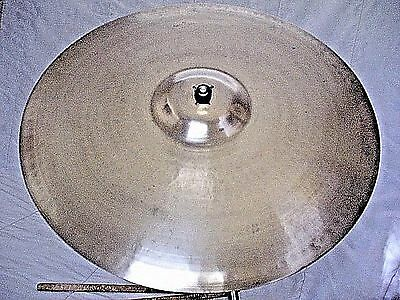 """VINTAGE Old 1950s 20"""" PAISTE STANOPLE Thin CRASH Cymbal *Ex Cond 1510g WORLDSHIP"""