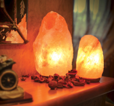 Himalion Handcrafted Salt Lamp 5-8lbs Natural Shape