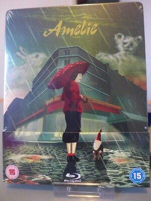 Blu ray steelbook Amelie U.K Zavvi Exclusive New & Sealed NEUF avec VF