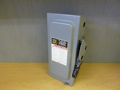 Square D H361 Heavy Duty Safety Switch 30A 600V Fused (14909)