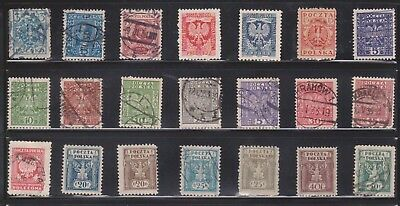 (U31-11) 1919-90s Poland mix of 48 stamps valued to 500ZT (K)