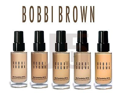 Bobbi Brown Skin Foundation SPF 15. VARIOUS SHADES Full Size 30ml. Brand New.