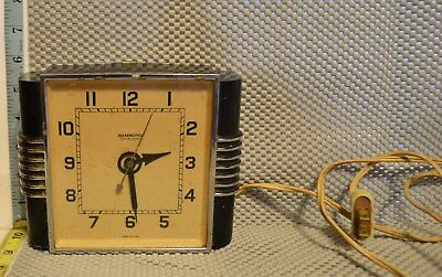 1930's Hammond Synchonous Stewardess Electric Wall Clock (Clockmakers Project)