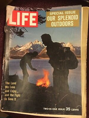 6 Life Magazines from 1960s & one from 1980s