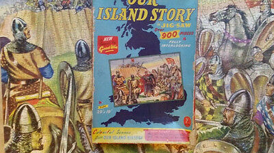 Rare complete goodwins  battle of hastings jigsaw puzzle
